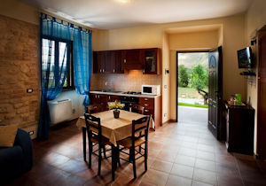 cucina bed and breakfast Sulmona